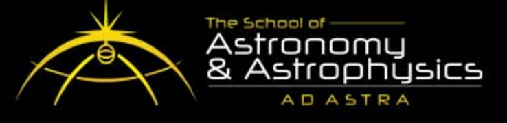 Image: School of Astronomy and Astrophysics Logo